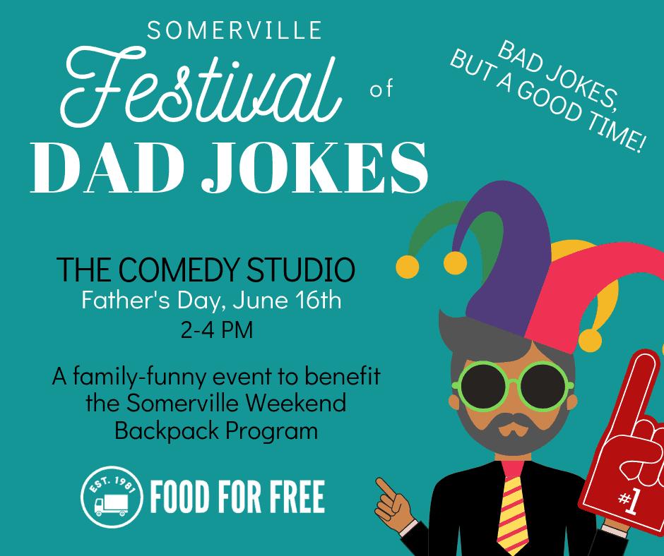 Somerville Festival of Dad Jokes - FoodForFree org